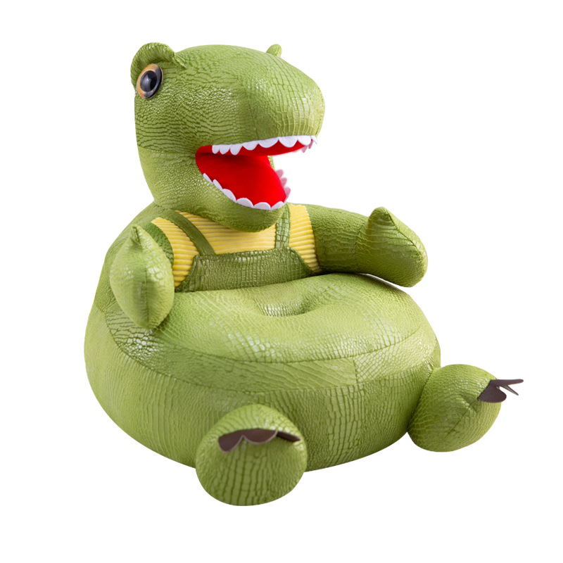 Infant Baby Seats Kids Dinosaur Sofa Plush Chair Cartoon Comfort Washable Animal Sofa Support Seats For Boys