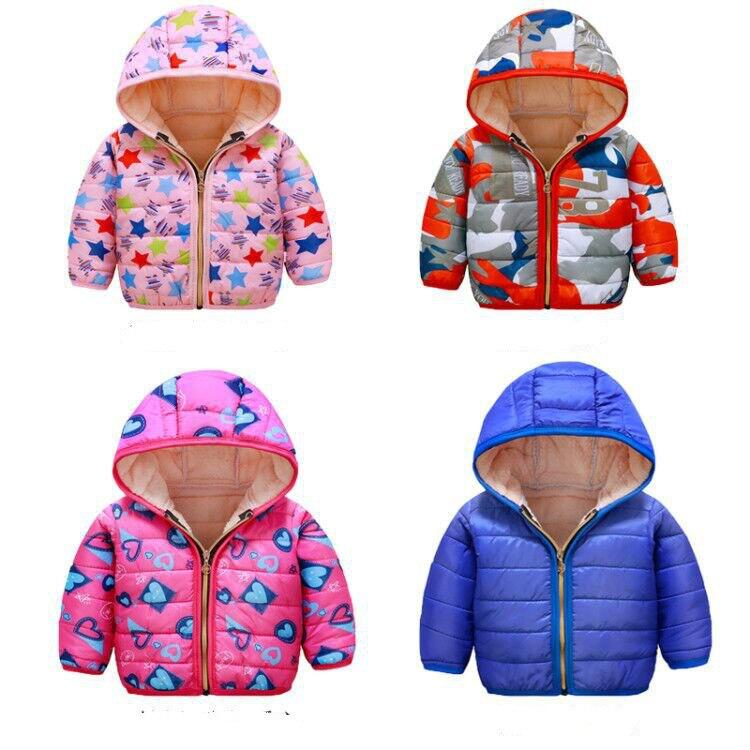 Зимняя Детская куртка и пальто для мальчиков, Новое поступление, модная верхняя одежда с капюшоном, Детское пальто, хлопковая верхняя одежд...