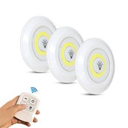 Keuken LED Onder Kast Licht met Afstandsbediening Batterij Operated LED Kast Verlichting voor Garderobe Badkamer Verlichting