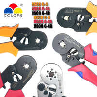 COLORS crimping tool hsc8 6-4 6-6 crimper kablo kesici pliers cable crimp tools plier wire cutter alicate crimpador alicates