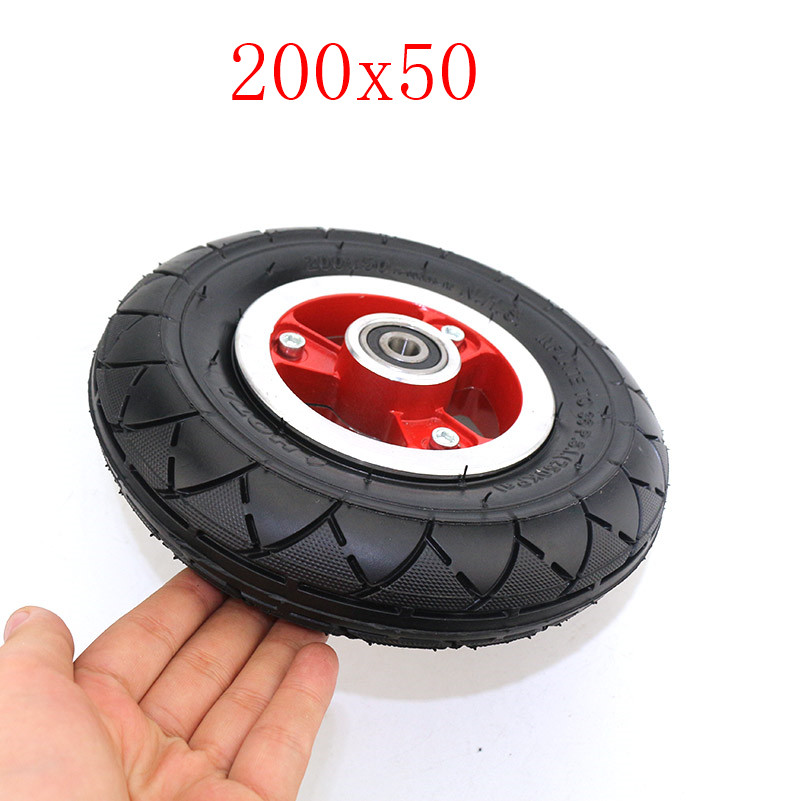 "High performance 200x50 Tyre With Wheel Hub 8"" Scooter 200*50 Electric Scooter tires inner tube lightning shipment"