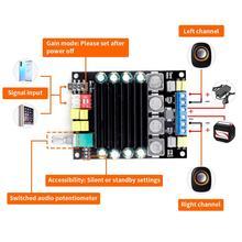 لوحة مكبر الصوت الرقمي TDA7498 مكبر الصوت بطاقة أمبير 2.0 فئة D مكبرات الصوت ستيريو HIFI مكبر للصوت DC12 36V 2*100W
