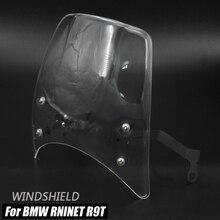 Headlight Fairing Deflector For BMW RNineT RNineT R9T 2014-2020 RNineT Motorcycle Flyscreen Windshield Windscreen
