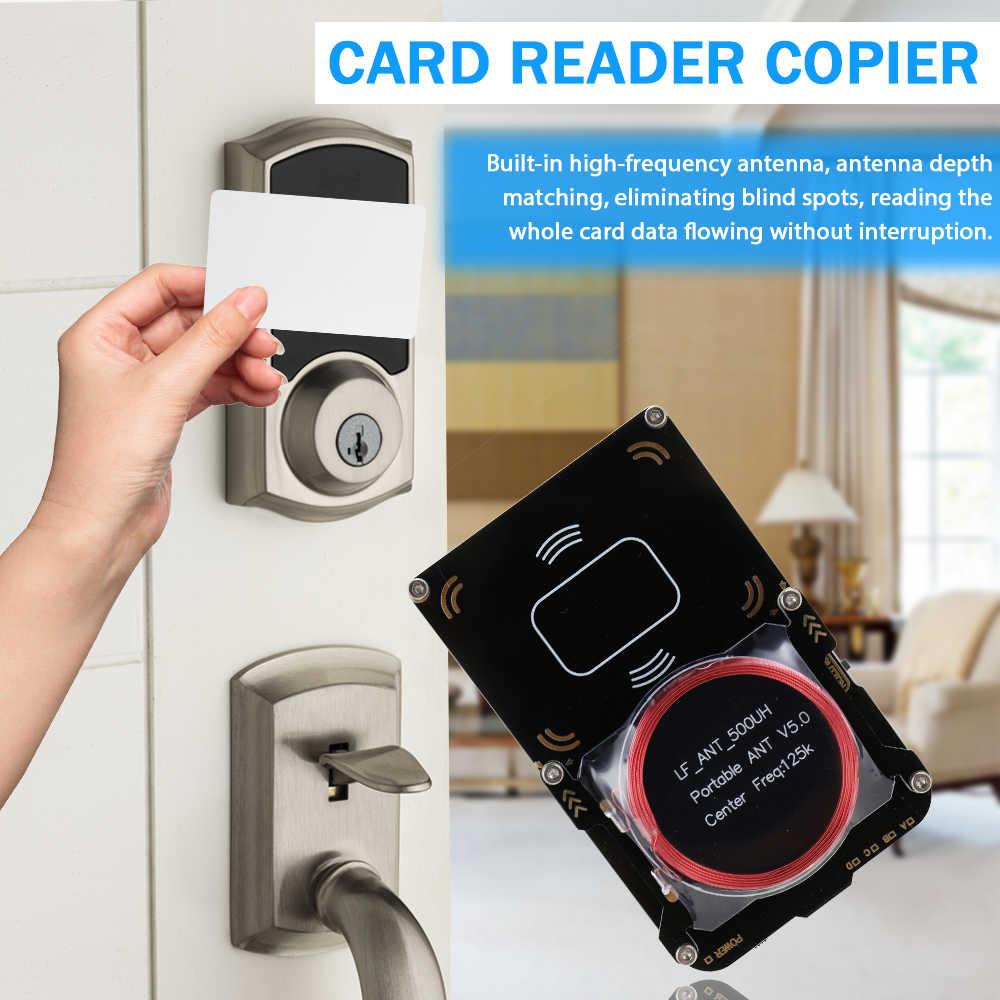 Proxmark3 NFC Đầu Đọc Thẻ RFID Máy Photocopy Có Thể Thay Đổi Thẻ MFOC Thẻ Nhân Bản Nứt Mã Nguồn Mở