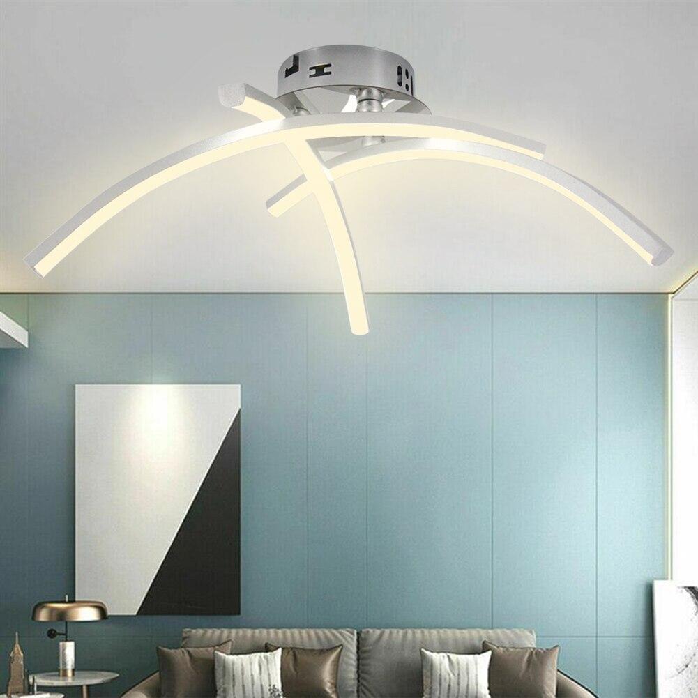 teto lustre quarto casa iluminação ultra fino