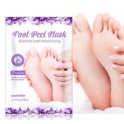 2pairs Feet Exfoliating Foot Mask Peel Peeling Dead Skin Feet Mask Socks for Pedicure Socks Whitening Moisturizing Feet Care
