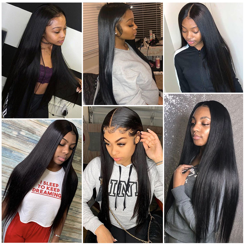 Beaudiva Hair 13x4x1 T Part Lace Wig  Straight Lace Wig 150 Density PrePlucked Straight Lace Front  Wigs 5