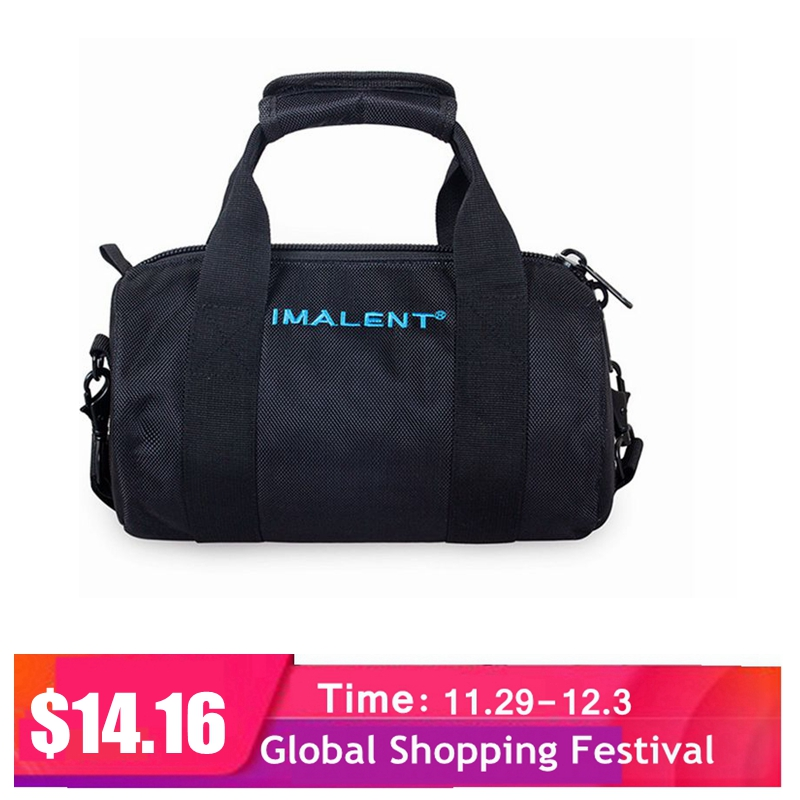 Imalent 2019 Original New Hot Fashional Outdoor Bag Casual Shoulder Bags For MS12 / DX80 / R90C / R70C Flashlight Accessoriy Bag