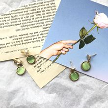court  literary artistic small drop green earrings vintage fashion african indian jewelry bohemian