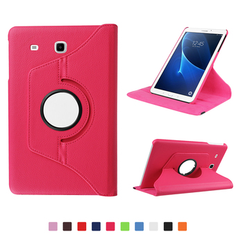 360 Degree Rotating Case For Samsung Galaxy Tab A 6 A6 7.0 2016 SM-T280 SM-T285 7.0 inch PU Leather Stand Tablet Cover for samsung galaxy tab a 7 0 t280 sm t280 t280n t285 high quality ultra slim silk 3 fold transparent cover stand pu leather case