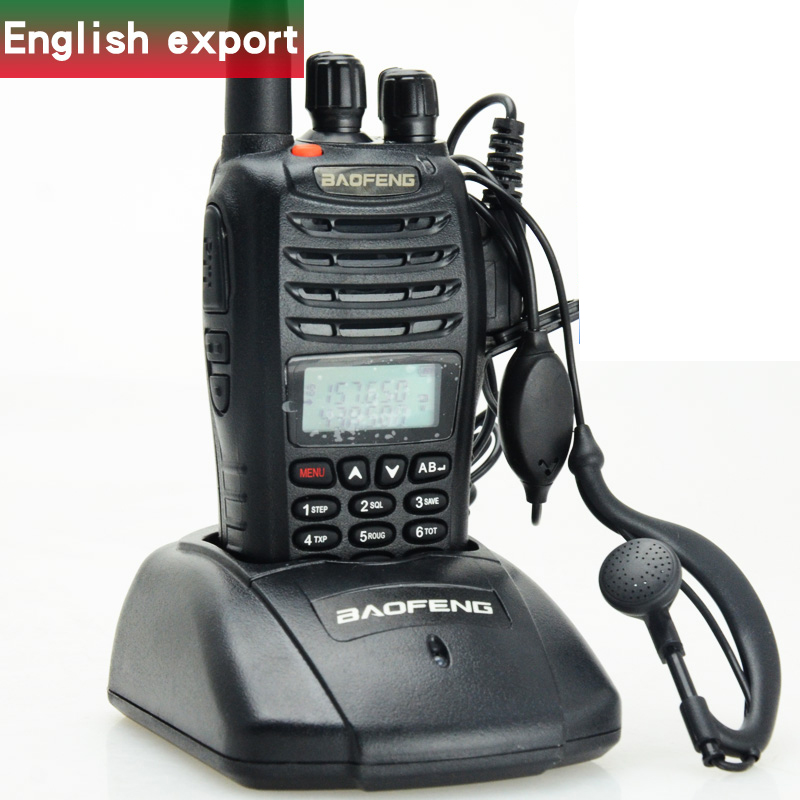 Baofeng UV walkie talkie English Version UVB5 Dual-segment UV 136-174 <font><b>400</b></font> -470 <font><b>MHZ</b></font> <font><b>radio</b></font> image