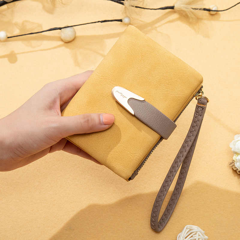 Модный браслет женский маленький кошелек Много отделов женский кошелек брендовый дизайнерский мягкий кожаный женский кошелек Дамский кошелек для монет