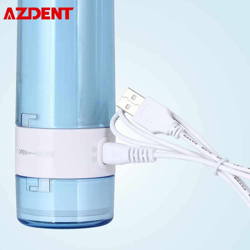 AZDENT USB Cable For AZ-007 Water Dental Flosser Portable Foldable Oral Irrigator USB Charger Wire Adapter USB Rechargeable Wire