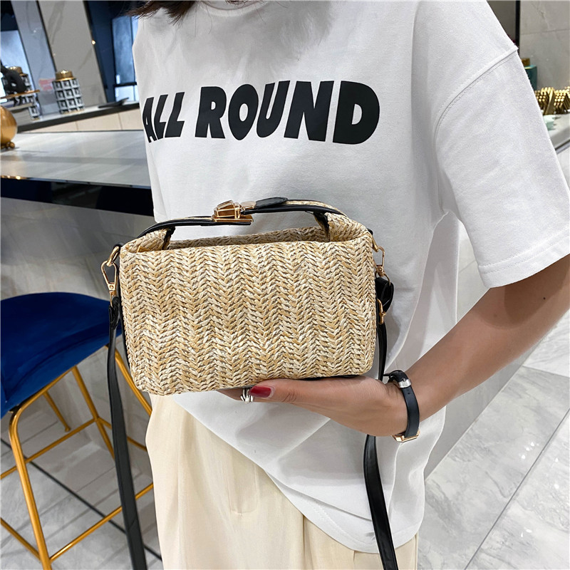 Women's Straw bag Summer new casual handbags All-match fashion Shoulder Bags  crossbody bags for women camera bag