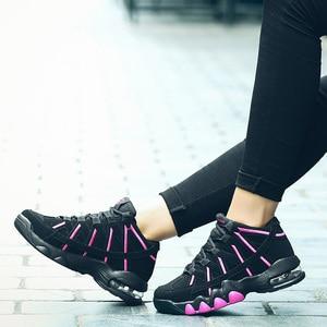 Image 3 - 2019 플러스 사이즈 39 45 남성 스니커즈 편안한 성인 디자이너 경량 패션 통기성 여름 트레이너 남성 신발