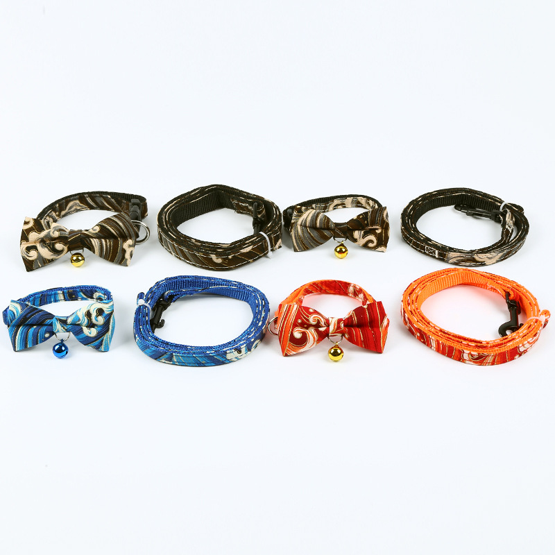 New Style Dacron Wave Traction Neck Ring Chang Pet Supplies Dog Hand Holding Rope Outdoor Traction Set