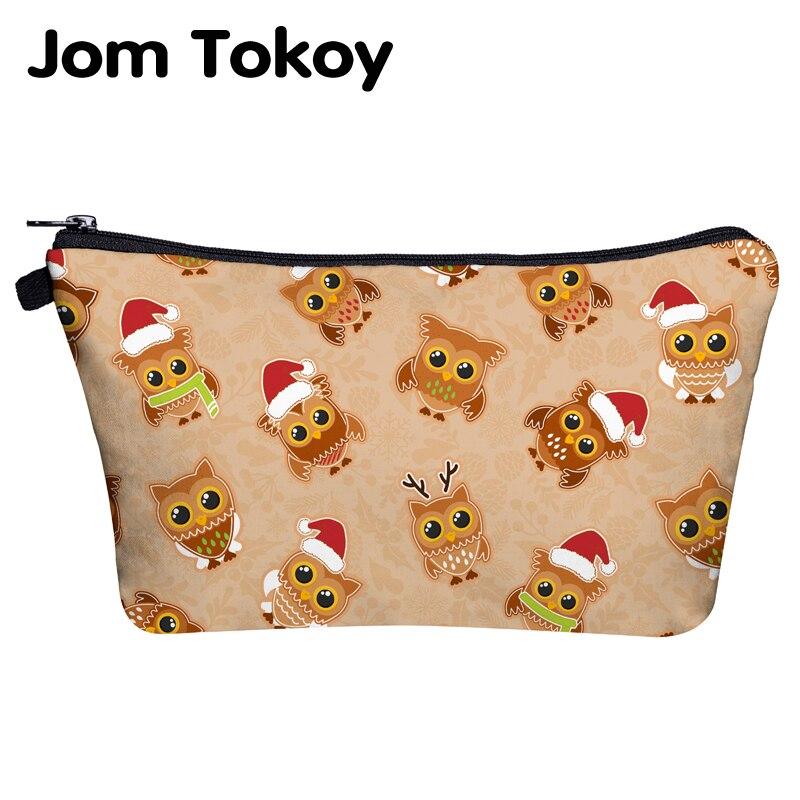 Jom Tokoy Cosmetic Travel Bag Christmas Gift Makeup Bags Organizer Bag Women Beauty Bag Hzb1020