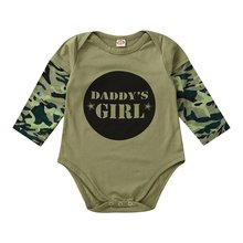 Осенне зимняя одежда для новорожденных мальчиков и девочек Камуфляжный