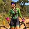 Xama ciclismo manga longa trisuit skinsuit feminino manga curta bicicleta wear macacão conjunto de roupas roadbike ciclo 21