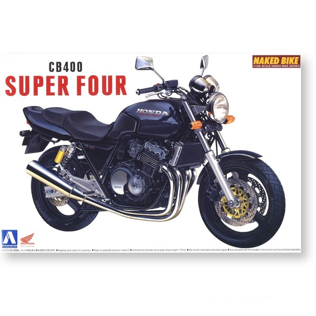 Assembly Model 1/12 Motorcycle Honda CB400 Super Four 04215 1