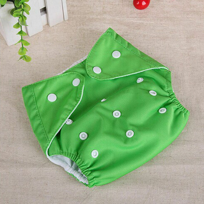 1PC Adjustable Reusable Kids Boys Girls Cloth Baby Diaper Washable Nappies