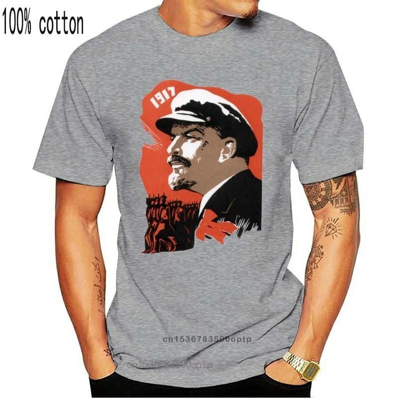 Lenin CCCP Sowjetunion советский UDSSR русскоязычная футболка с вышивкой Gr & ouml & szligen NEU