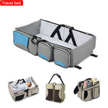 Baby travel bed portable  foldable lightweight thermal insulation