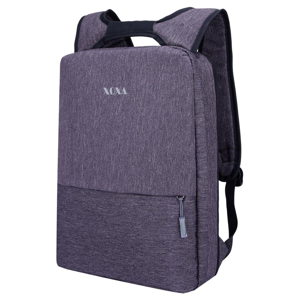 XQXA Light Slim Backpack Men Lightweight 14