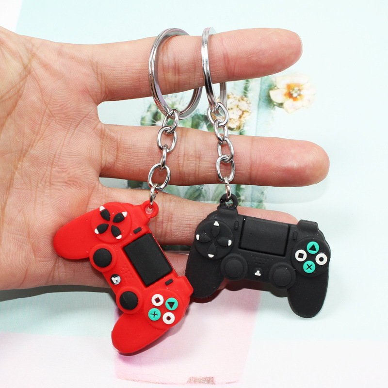 Best Gift for Boyfriend Girlfriend Men Simple Video Game Handle Keychain Valentine Day Couple Anniversary Party Favors Presents