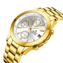 Женские наручные часы senors роскошные из розового золота с