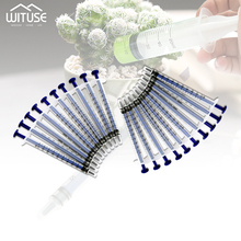5pc 1ml Plastic Disposable Injector Syringe For Refilling Hydroponics Measuring Nutrient Syringe Not Needles Feeding Accessories