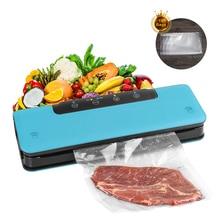 Mini sellador eléctrico portátil de plástico para el hogar, máquina de envasado al vacío, ahorro de alimentos