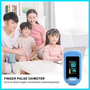Image 4 - RZ الإصبع نبض مقياس التأكسج معدل المنزل ضغط الدم الرعاية الصحية CE OLED عرض الأكسجين إنذار الإعداد