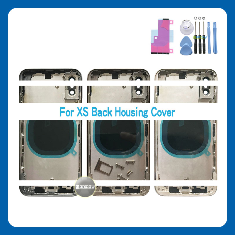 Aaa высокое качество для iphone xs max / x Корпус Крышка батарейного