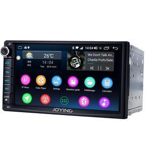 "Image 4 - 7 ""כפול 2Din אוקטה Core אנדרואיד 8.1 ראש יחידת רכב האוניברסלי רדיו סטריאו מולטימדיה GPS לא DVD נגן מובנה 4G מודם DSP"