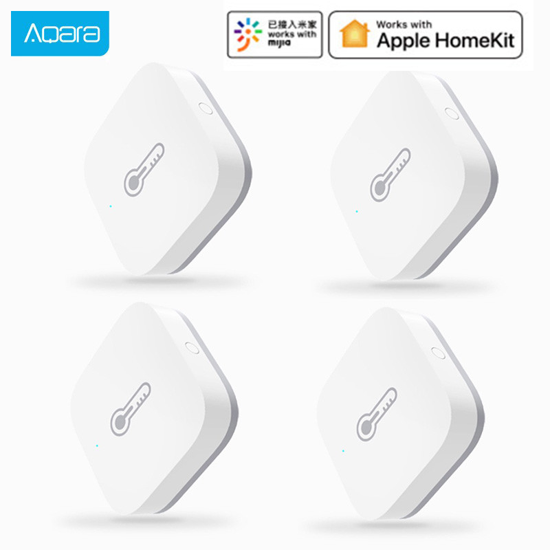Original Xiaomi AQara Smart Air Pressure Temperature Humidity Environment Sensor Work With Android IOS APP Control In Stock