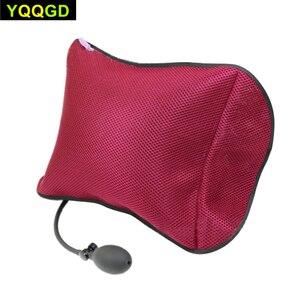 Image 2 - Conception orthopédique gonflable portative de coussin de soutien lombaire/oreillers de Massage pour loreiller de soutien lombaire de soulagement de douleur de dos
