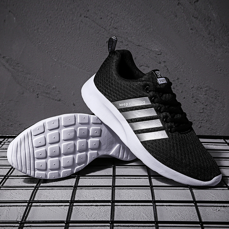 New Mesh Men Casual Shoes Lac-up Shoes Lightweight Comfortable Breathable Walking Sneakers Women's Shoes Marathon Running Shoes