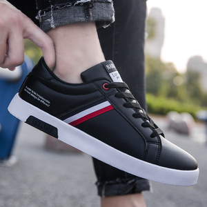 Image 4 - High Quality Brand Men Casual Shoes Hot Sale Spring Autumn New White Shoes Men Casual Breathable Fashion Casual Men Shoes Black