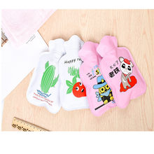 Double hot water bottle warm water bag small fresh water injection explosion-proof hand warmers students with warm baby warming(China)