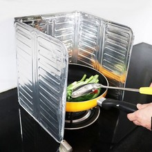 1Pc Kitchen Frying Pan Oil Splash Protection Screen Cover Gas Stove Removal Scald Aluminum New Foil Tools Accessories