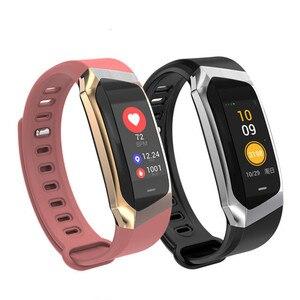 Image 1 - E18 Smart Bracelet Blood Pressure Heart Rate Monitor Fitness Activity Tracker smart watch Waterproof Sport Band