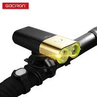 Gaciron V9D 1800 Bicycle Light Front 1800 lumens USB Rechargeable 6700mAh as Power Bank IPX6 Waterproof Bike Light Cycling