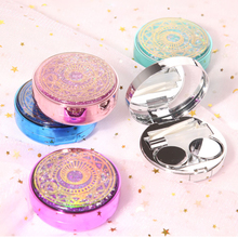 1 Set Colored Contact Lens Case With Mirror Contact Lenses Box Eyes Contact Lens Container Travel Kit Easy Carry cheap Bio-essence CN(Origin) Lense container