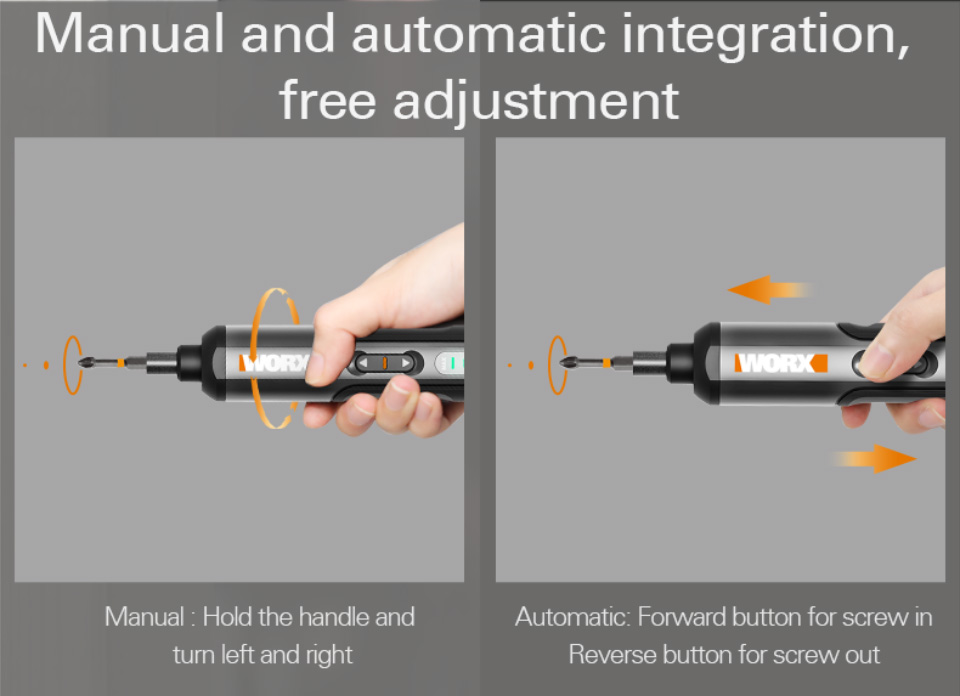 Manual and automatic adjustment
