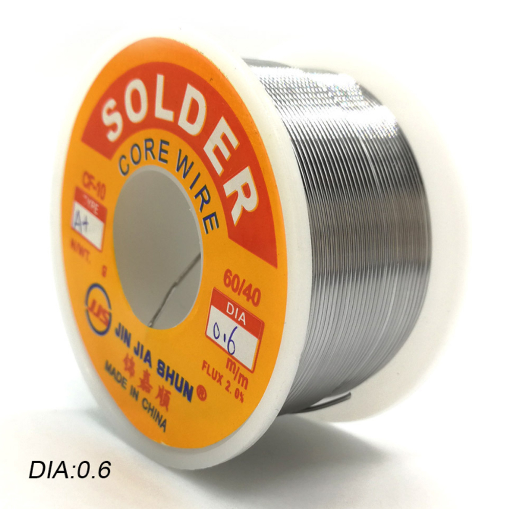 Point 0mm Rolls 1 Solder Melting Wire 6040 0 High Tin Wire Lot 0 5 8 100g Low 6 Activity Low Temperature Purity