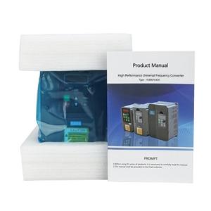 Image 4 - 1.5KW/220V CNC mili 1500W 220V 24000RPM hava soğutmalı mil motoru CNC Motor + 1.5KW invertör + 1 takım er11 kare freze mili