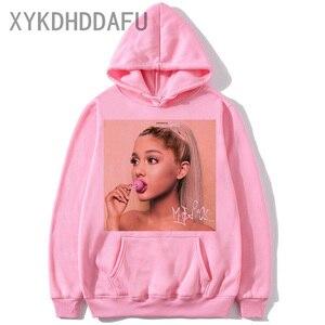 Ariana Grande Hoodie Harajuku Funny Women/men 90s Sweatshirt Clothes Female/male Graphic Pullovers Hood Oversized Ulzzang
