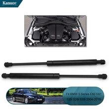 2 sztuk samochodów przednia maska obsługuje Rod pokrywa silnika szok podnoszenia Strut dla BMW E60 E61 525i 528i 530i /PM3669/0583WD