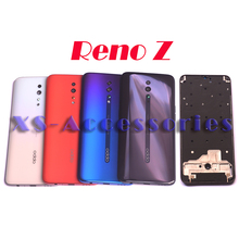 New Original Battery cover back door Middle frame bezel housing for OPPO Reno Z